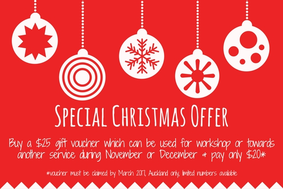 Christmas Special Vouchers Offer